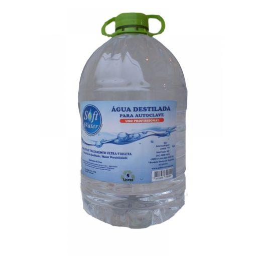 Água destilada Soft Water